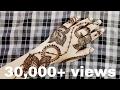 Download Modern leaf henna design 2017 Video