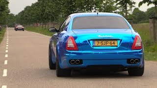 Download Maserati Quattroporte 4.2 V8 with Straight Pipes - LOUDEST EVER! Video