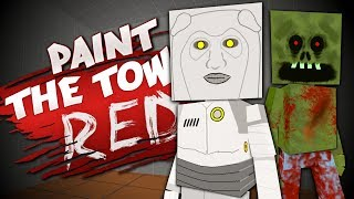 Download ROBOTS, ZOMBIES and MEMES - Best User Made Levels - Paint the Town Red Video