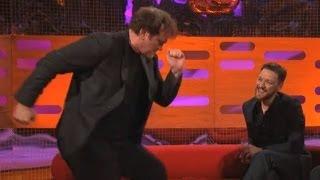 Download QUENTIN TARANTINO: Dancing the Pulp Fiction Twist (The Graham Norton Show) Video
