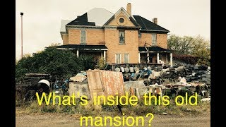 Download Scrapyard Mansion, exploring a 100 year old mansion full of antiques Video