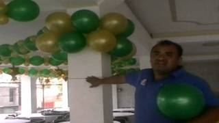 Download DECORACION CON GLOBOS COMO CUBRIR COLUMNAS CON GLOBO Video