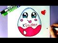 Download EINE KAWAII KINDER SCHOKOLADE SELBER MALEN - ÜBERRASCHUNG EI Video