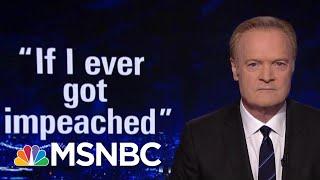 Download Lawrence: Trump Talks Impeachment, As Trump Allies Talk To Fed Prosecutors | The Last Word | MSNBC Video
