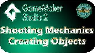 Download GMS2 Tutorial - Shooting Mechanics - Creating Objects - GameMaker Studio 2 Tutorial Video
