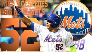 Download Yoenis Cespedes | New York Mets | 2016 Highlights Mix ᴴᴰ Video