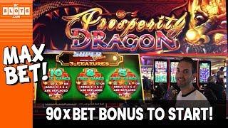 Download 💥 90 ✖️ BET Bonus to Start! 💰 $1300 @ San Manuel Casino ✪ BCSlots (S. 4 • Ep. 1) Video