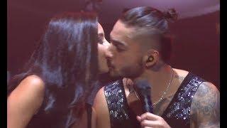 Download Maluma besa una fan / kisses BEAUTIFUL fan on stage (World Tour - Amsterdam, Afas Live 28.09) Video