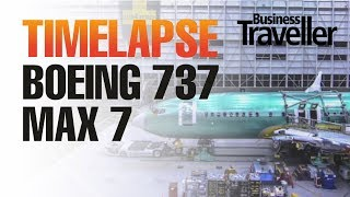 Download Boeing 737 MAX 7 going through the factory, time-lapse - Business Traveller Video