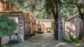 Download Architectural Italian Palazzo Compound in La Canada, California Video