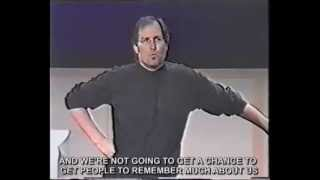 Download Best marketing strategy ever! Steve Jobs Think different / Crazy ones speech (with real subtitles) Video