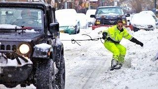 Download Snowboarding New York City Video