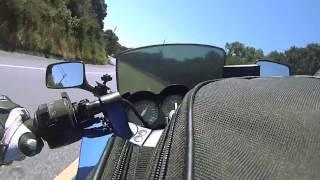 Download 2006 Ninja 250r | Twisties | Laurele's Grade | Canyon Carving | Chest Mount Video