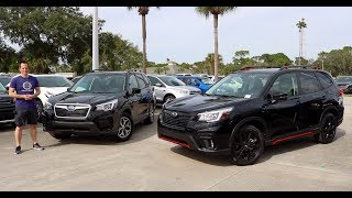 Download Why BUY the 2019 Subaru Forester Sport over the Forester Premium? Video