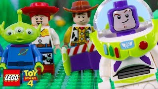 Download LEGO Toy Story 4 STOP MOTION LEGO Toy Story Buzz Falling With Style   LEGO Toy Story    Billy Bricks Video