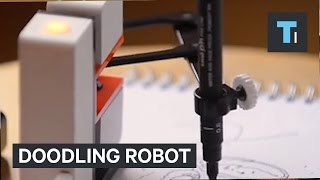 Download This robot arm can be your tiny doodling buddy Video