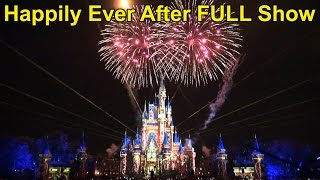Download HAPPILY EVER AFTER - FULL Fireworks & Projection Show Debut, Walt Disney World, Magic Kingdom Video