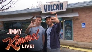 Download Jimmy Kimmel and Matthew McConaughey Make A Local TV Commercial for Vulcan Video Video