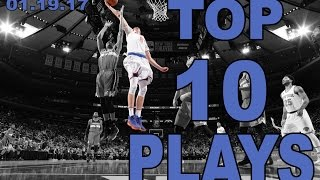 Download Top 10 NBA Plays of the Night: 01.19.17 Video