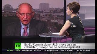 Download US holding EU hostage over Iran – ex-EU commissioner Video