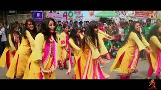 Download Official Flash-Mob Of Accounting Dept || 9th batch || Jagannath University,Dhaka || Rag Day 2018 Video