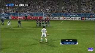 Download PES 2012 - Real Madrid Vs Barcelona (5-2) on Super Star Level - Winning UEFA Champions League! Video