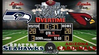 Download 2017 LIVE! NFL Analysis | TNF Seahawks vs. Cardinals WK 10 | TNF OVERTIME #LouieTeeLive Video