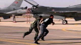 Download Jordanian, Turkish, American F-16 Pilots Compete in Falcon Air Meet Video