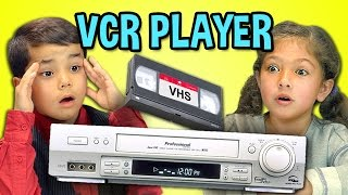 Download KIDS REACT TO VCR/VHS Video