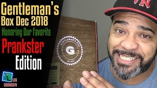 Download Gentleman's Box December 2018 👔 : LGTV Review Video