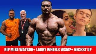 Download Larry Wheels Next World's Strongest Man? RIP Mike Watson, NECKST UP Reaction Video
