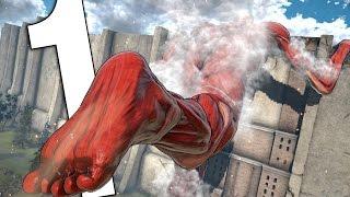 Download THIS GAME IS BEAUTIFUL!   ATTACK ON TITAN (PC) - STORY GAMEPLAY #1 Video