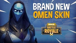 Download Brand New Omen Skin!! - Fortnite Battle Royale Gameplay - Ninja Video