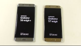 Download Samsung Galaxy S6 Edge+ Android 6.0.1 vs Galaxy S7 Edge - Speed Test! Video