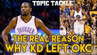Download The REAL Reason Why Kevin Durant Left OKC Video