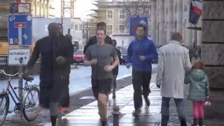 Download Mark Zuckerberg jogging in Berlin Video