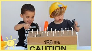 Download PLAY | 3 Construction Themed Activities (using cardboard!) Video