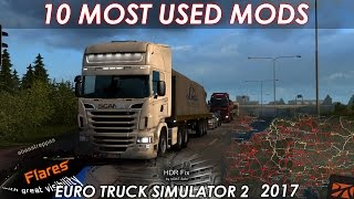 Download 10 Must Have Modifications for Euro Truck Simulator 2 | 2017 Video