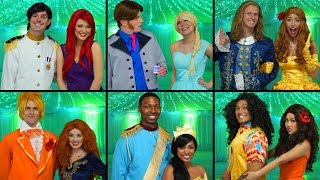 Download WHO WILL BE PROM KING AND QUEEN? DISNEY PRINCESS PROM (Totally TV Dress Up Characters) Video