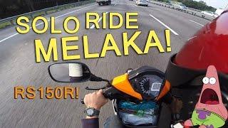 Download Solo ride ke Melaka pakai Honda RS150R! Video