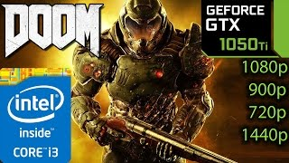 Download DOOM 2016: GTX 1050 ti - i3 6100 - 1080p - 900p - 720p - 1440p Video