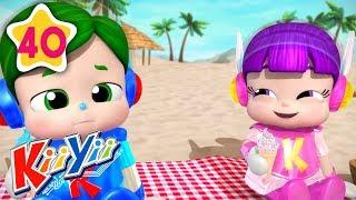Download 4 Seasons | Plus More Nursery Rhymes | by KiiYii | Nursery Rhymes & Kids Songs Video