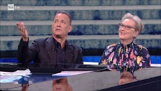 Download Meryl Streep e Tom Hanks (1^ parte) - Che tempo che fa 14/01/2018 Video