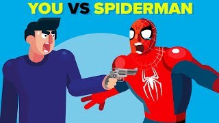 Download YOU vs Spider-Man - How Could You Defeat Him? Video