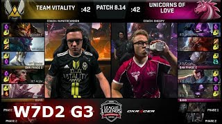 Download Vitality vs Unicorns of Love | Week 7 Day 2 S8 EU LCS Summer 2018 | VIT vs UOL W7D2 Video