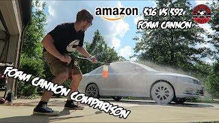 Download Foam Cannon Comparison ($16 Amazon Cannon vs $90 ″Professional″ Cannon) Video