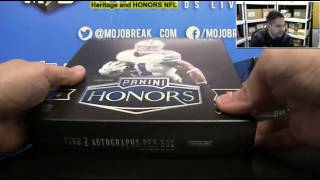 Download 2016 Panini Honors Football 10 Box Case Break #1 Video