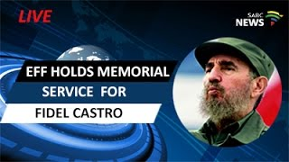 Download EFF holds memorial service for Fidel Castro Video