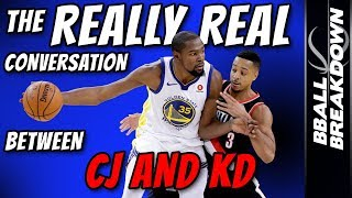 Download The REALLY Real Conversation Between CJ McCollum And Kevin Durant Video