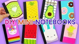 Download How to Make EIGHT Mini Kawaii Notebooks (Back-to-school DIYs)! Video